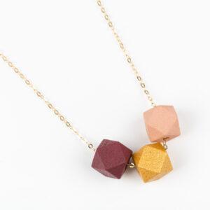 Burgundy-Goud-Roze