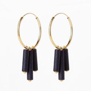 Mono hoops - Blauw