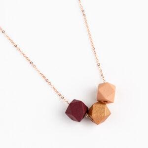 Burgundy-Brons-Roze