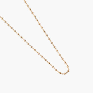 ifé – bamboo necklace gold