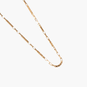ifé – blocked necklace gold