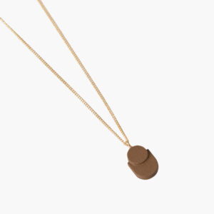 ifé - sloth necklace - Mustard