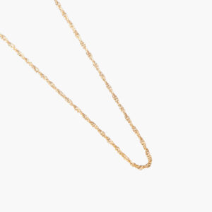 ifé – twine necklace gold