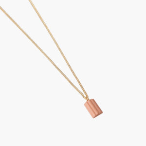 ifé - waved necklace - Roze