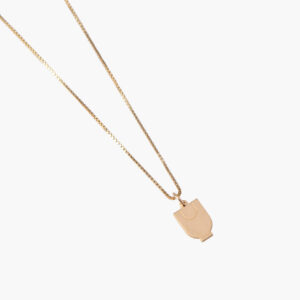 ifé – wolf necklace gold