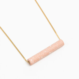 Freckles Ketting Roze+Wit