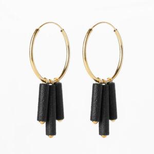 Mono hoops - Black