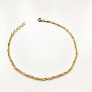 ifé – twine bracelet gold