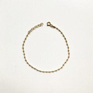 ifé – bamboo bracelet gold