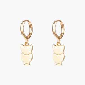 ifé – sloth hoops gold