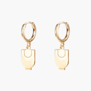 ifé - sloth hoops gold